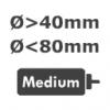 40 - 80 mm DC Motorlar