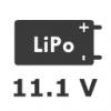 3S 11.1V LiPo Pil