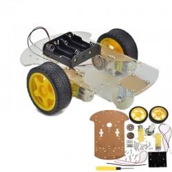 2WD Mobil Robot Platformu