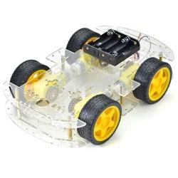 4WD Mobil Robot Platformu