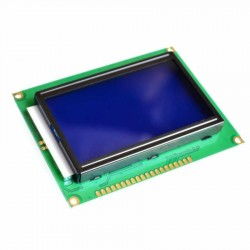 128x64 LCD Ekran Mavi