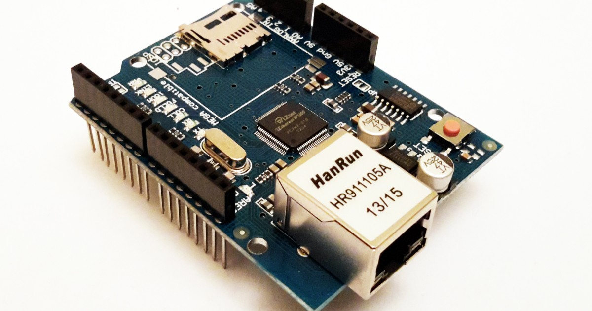 W5100 Ethernet Network Mini Board - Futurlec