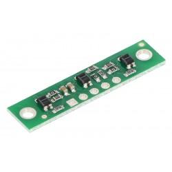 QTR-3A Kızılötesi Sensör Kartı  - Analog - PL-2456