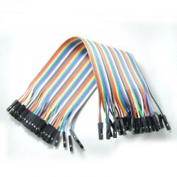 200mm Dişi-Dişi 40 Pin Jumper Kablo